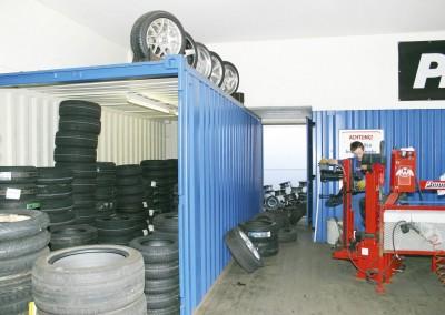 Tyre Storage