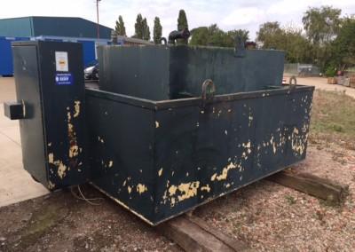 Green Derv Tank <br>L6' x W4' x H4' approx